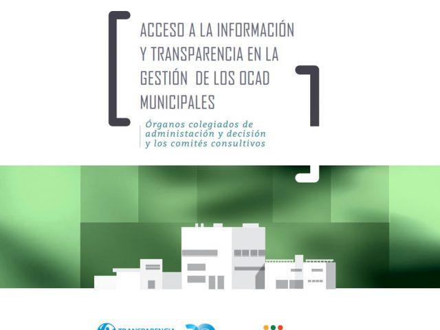 Acceso a la información y transparencia en la gestión de los OCAD municipales