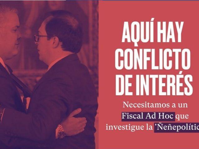 Ante conflicto de interés, urge fiscal Ad Hoc en 'Ñeñepolítica'