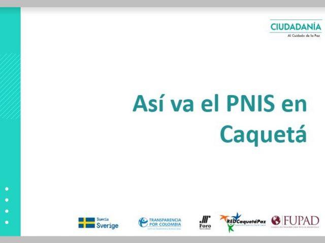 Así va el PNIS en Caquetá