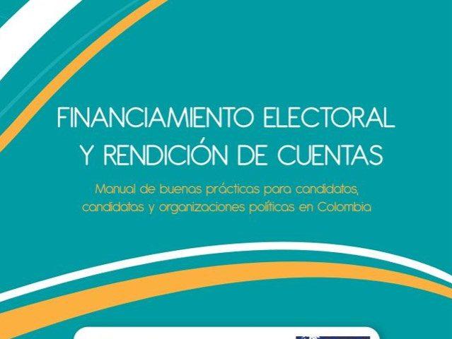 Cartilla Financiamiento Electoral y Rendición de Cuentas