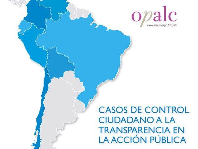 Casos de control ciudadano a la transparencia en la acción pública