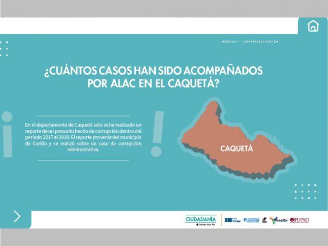 Conoce algunos datos de corrupción en Colombia (Caquetá)