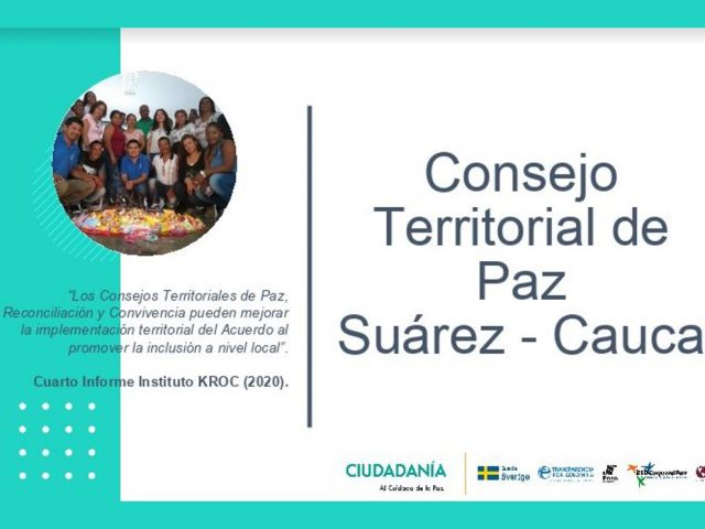 Consejo Territorial de Paz – Transparencia