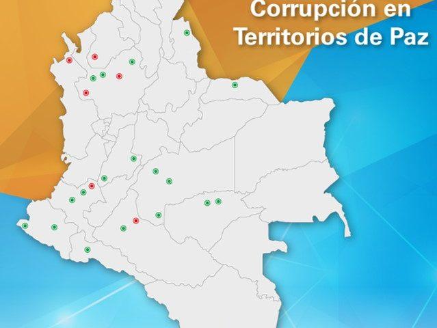 Corrupción en territorios de paz Enero 2010 – Agosto 2016