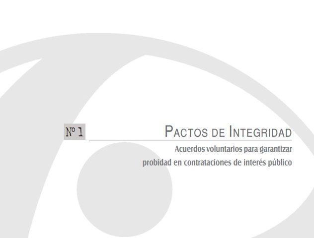 Cuadernos de Transparencia 1. Pactos de integridad