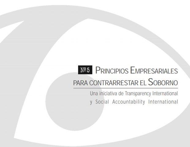 Cuadernos de Transparencia 5. Principios empresariales para contrarrestar el soborno.