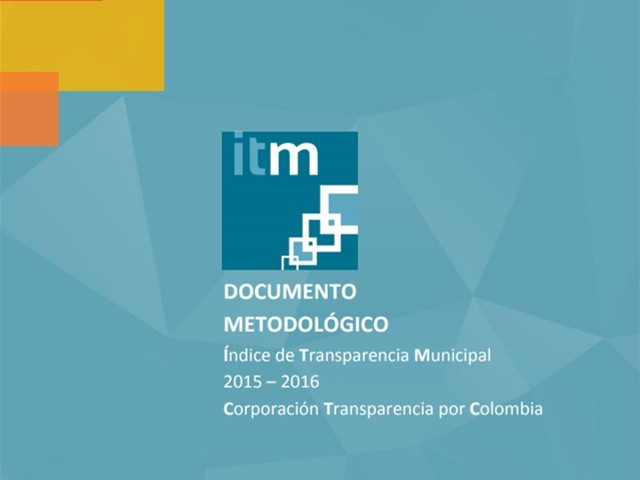 Documento Metodológico ITM 2015 – 2016
