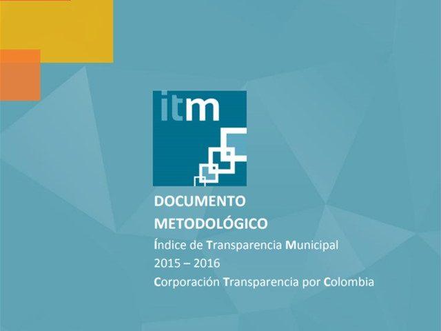 Documento Metodológico ITM 2015 – 2016