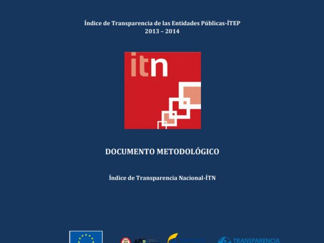 Documento Metodológico ITN 2013 – 2014