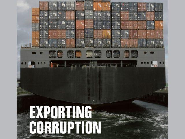 Exportar corrupción: reporte de avance 2014