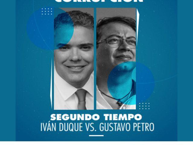Golazo a la corrupción segundo tiempo: Iván Duque vs Gustavo Petro