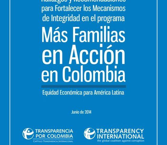 Hallazgos y recomendaciones para fortalecer los mecanismos de integridad en el programa Más Familias en Acción en Colombia