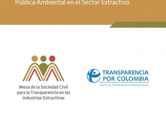 Identificación de Buenas Prácticas en el Acceso y Divulgación de Información Pública Ambiental en el Sector Extractivo