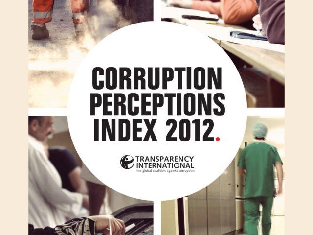Índice de Percepción de la Corrupción 2012