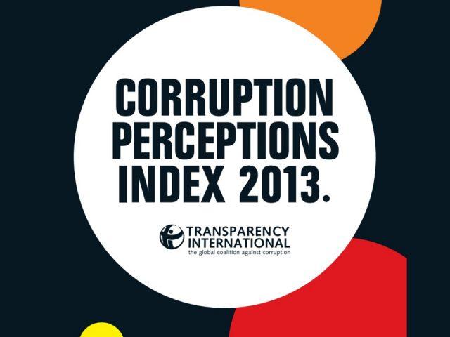 Índice de Percepción de la Corrupción 2013