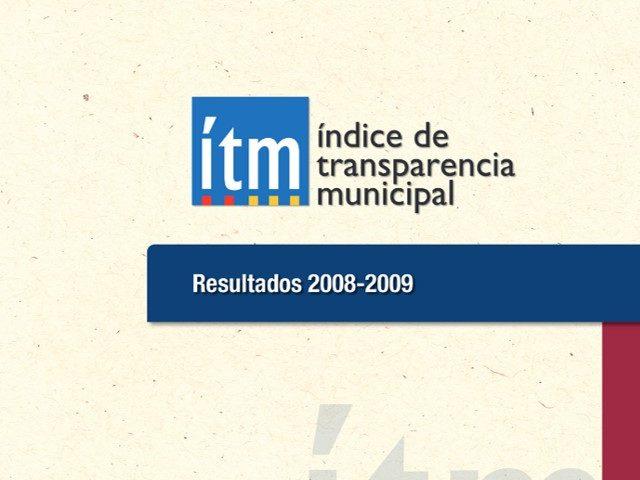 Índice de Transparencia Municipal 2008 – 2009