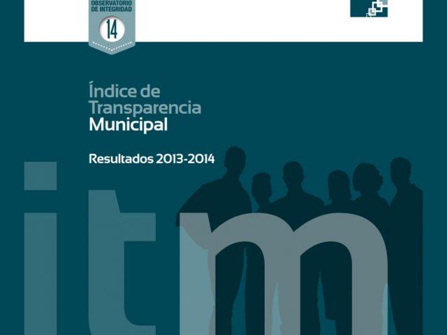 Índice de Transparencia Municipal Resultados 2013 – 2014