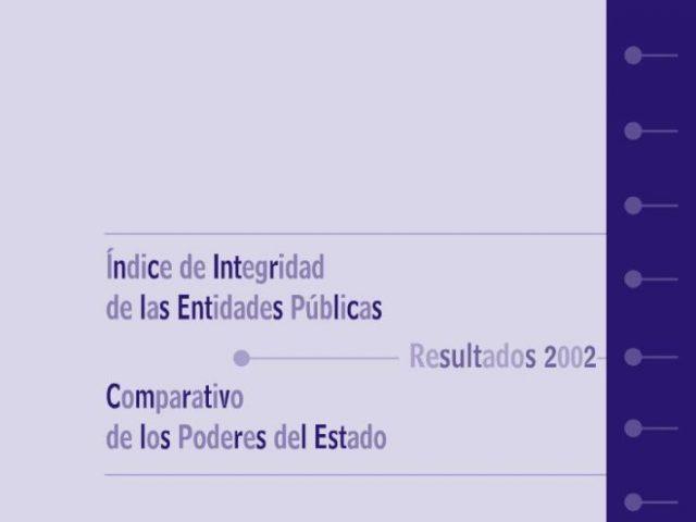 Índice Integridad Nacional 2002