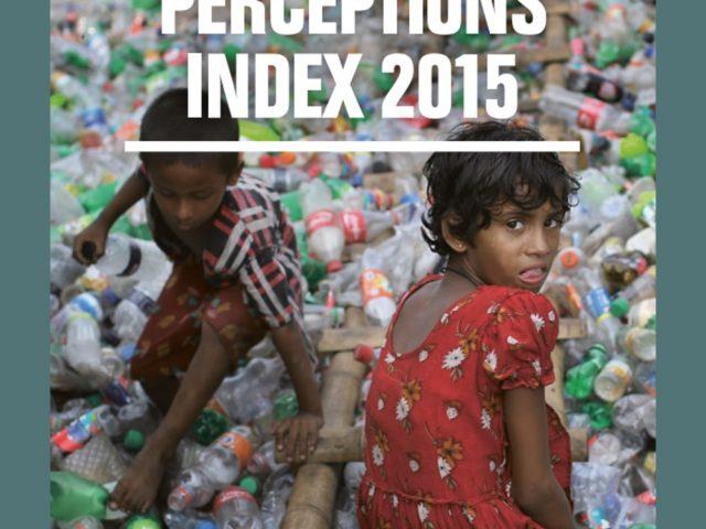 Índice Percepción de la Corrupción 2015