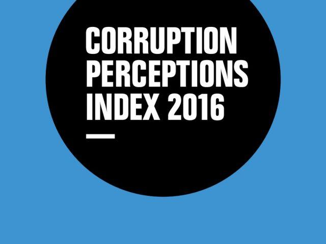 Índice Percepción de la Corrupción 2016