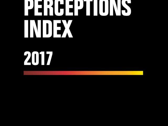 Índice Percepción de la Corrupción 2017