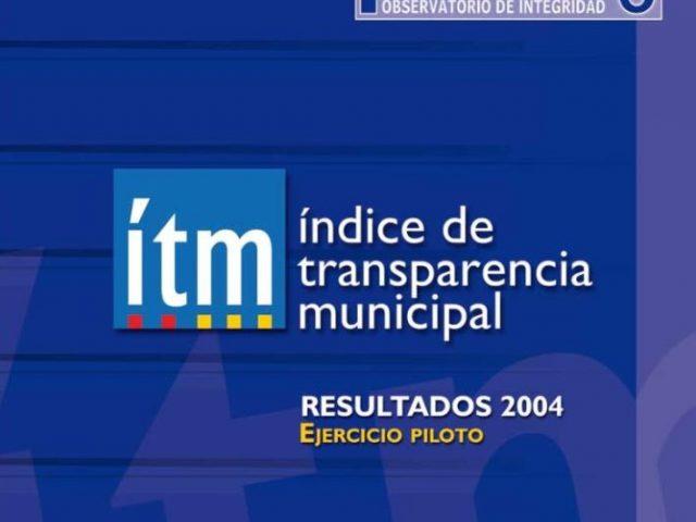 Índice Transparencia Municipal 2004