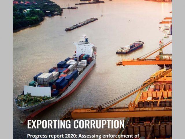 Informe Exportación de Corrupción 2020