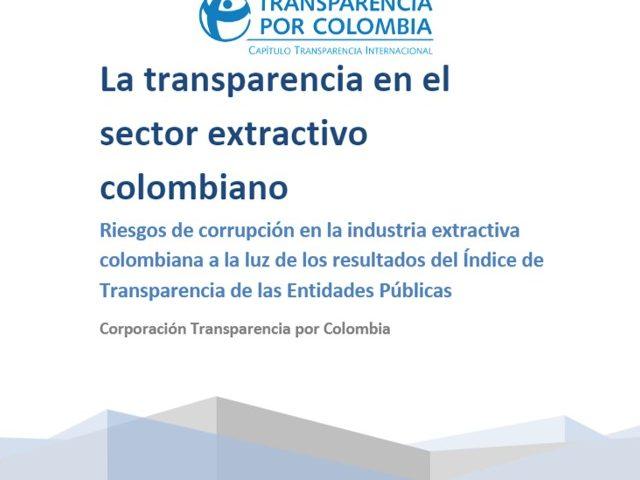 La transparencia en el sector extractivo colombiano