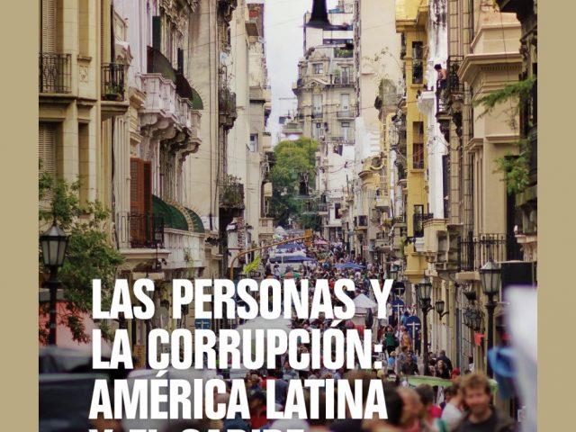 Las personas y la corrupción: América Latina y el Caribe