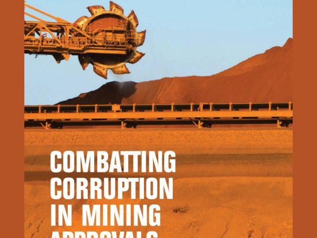 Lucha contra la corrupción en el otorgamiento de concesiones mineras