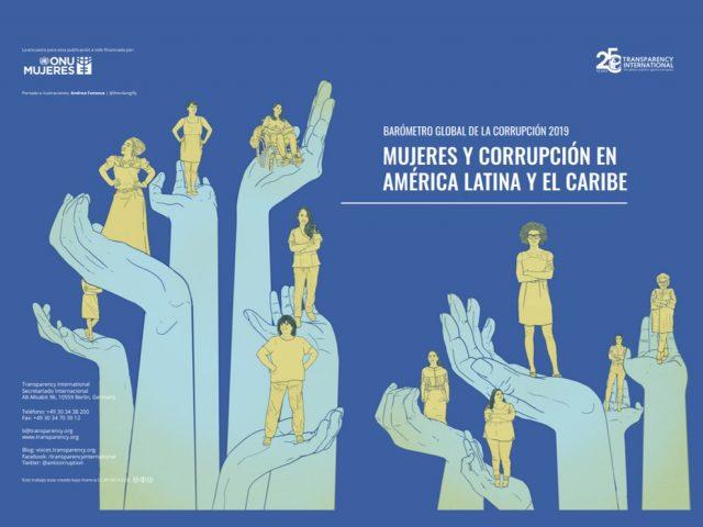 Mujeres y corrupción en América Latina y el Caribe – Barómetro Global de la corrupción 2019