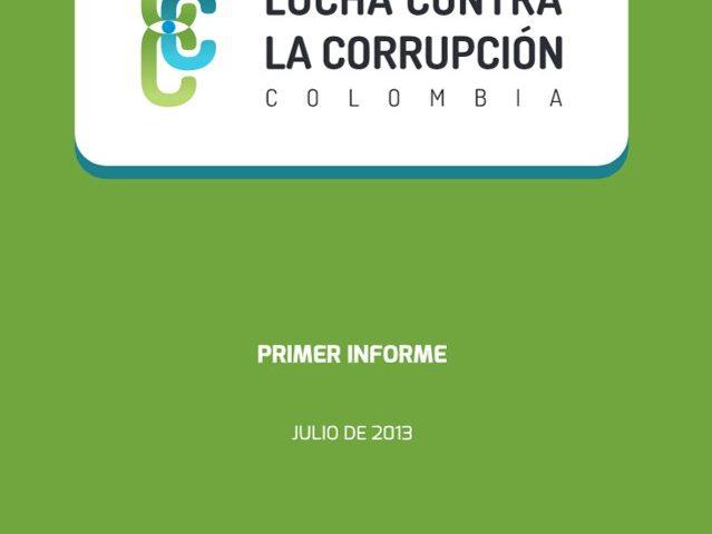 Primer Informe de la Comisión Nacional Ciudadana para la Lucha Contra la Corrupción