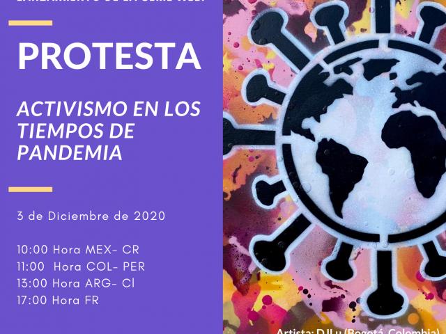 Protestas, una serie web sobre el activismo en América latina en tiempos de COVID-19