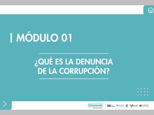 ¿Qué es la denuncia de la corrupción?