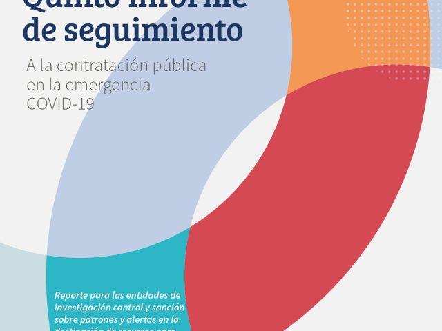Quinto informe de seguimiento a la contratación pública en la emergencia COVID-19