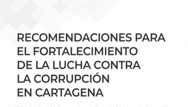 Funcicar y Transparencia por Colombia presentan recomendaciones para disminuir riesgos de corrupción en Cartagena