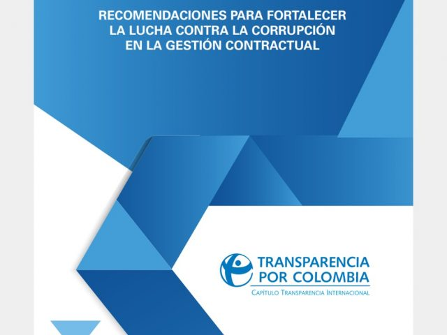 Recomendaciones para fortalecer la lucha contra la corrupción en la gestión contractual