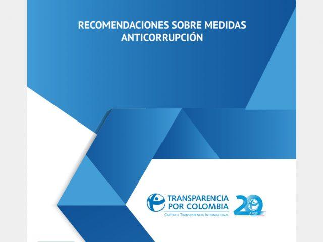 Recomendaciones sobre medidas anticorrupción