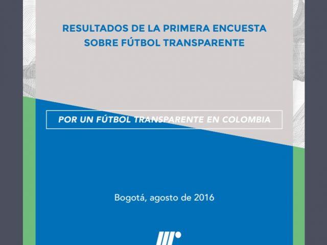 Resultados de la primera encuesta sobre fútbol transparente