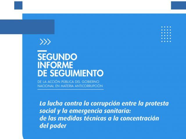 Segundo Informe de Seguimiento de la Acción Pública del Gobierno Nacional en Materia Anticorrupción
