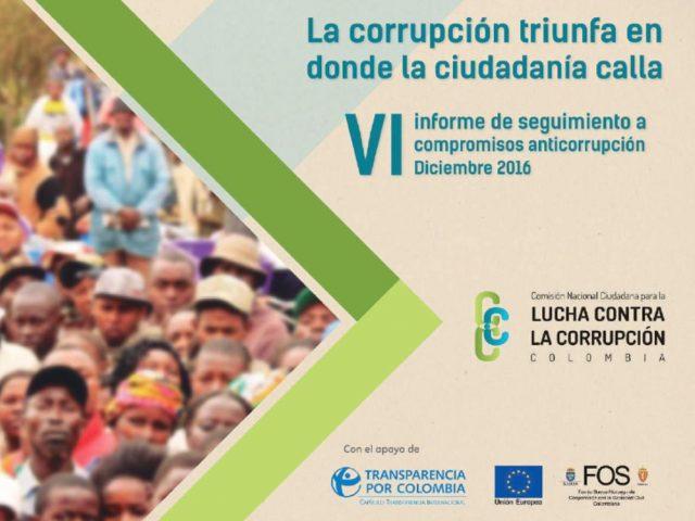 Sexto Informe de la Comisión Nacional Ciudadana para la Lucha Contra la Corrupción