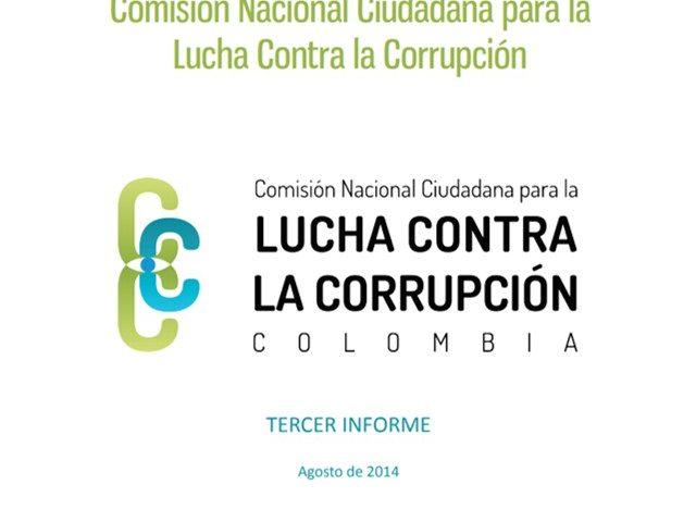 Tercer Informe de la Comisión Nacional Ciudadana para la Lucha Contra la Corrupción