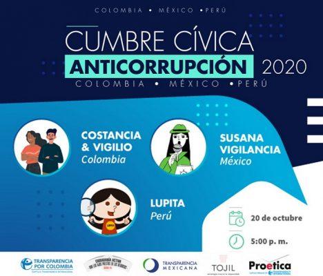 Webinar Cumbre Cívica Anticorrupción 2020